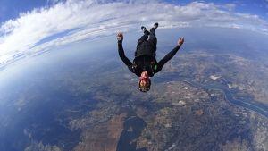 parachutiste Pujaut