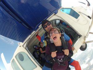 chute libre saut en parachute