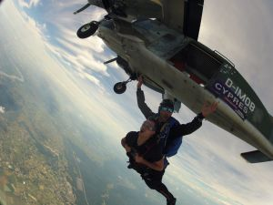 parachutisme saut tandem