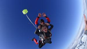 saut en parachute en PACA
