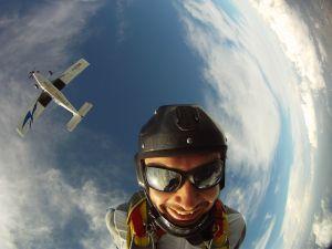 Saut en parachute avion