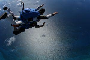saut en parachute tandem Nimes
