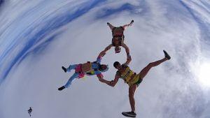 stage de parachutisme Portugal