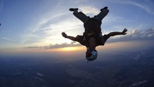 saut d'initiation freefly