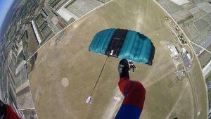 Voile de parachutisme sportif